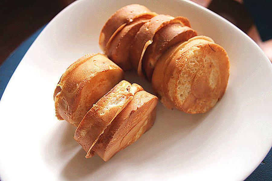 板橋 | 楊家車輪餅,皮薄餡多 板橋人的共同記憶