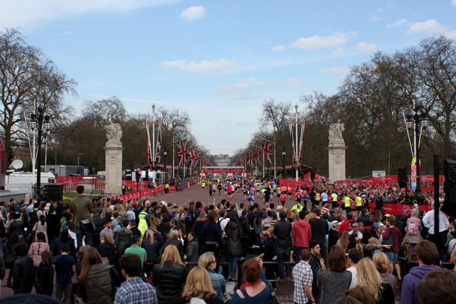 倫敦 London | 白金漢宮 Buckingham Palace – 巧遇 2013 馬拉松 World Marathon Majors