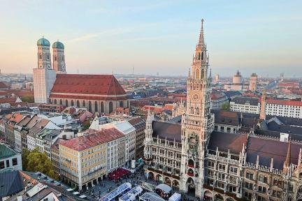 慕尼黑 Munich | 聖彼得教堂 St. Peterskirche 鐘塔頂端俯瞰最美市景