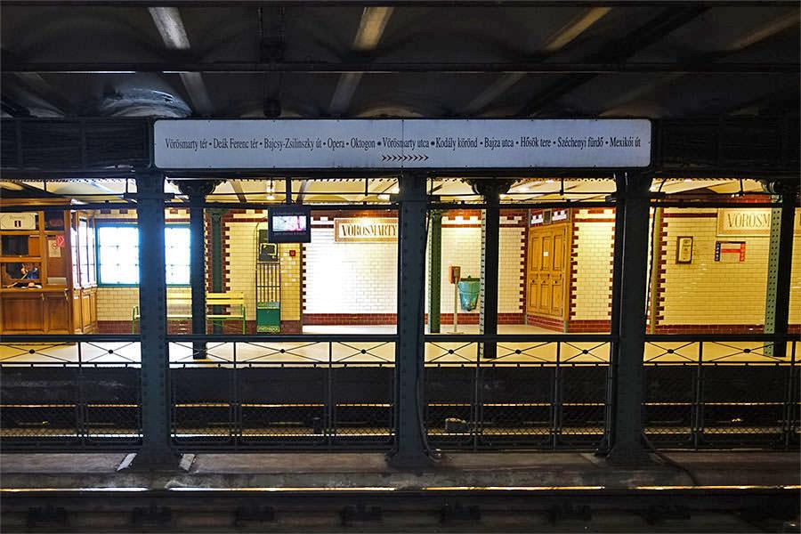 布達佩斯 | 世界遺產地鐵M1號線 – 世界第二老,本身就是景點!!