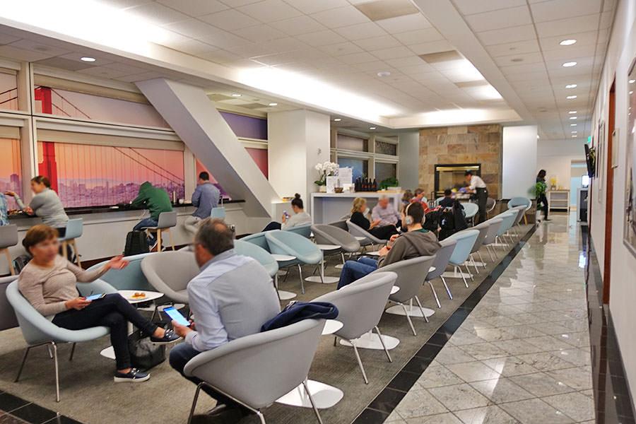 舊金山機場SFO | 法航/荷航貴賓室 Air France-KLM Lounge