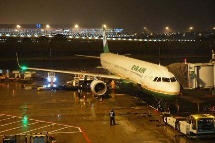 長榮航空 EVA AIR | BR705 上海浦東PVG ⇒ 高雄KHH 飛行紀錄