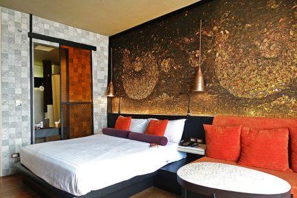 曼谷暹羅@暹羅設計飯店~強烈大膽風格酒店 Siam@Siam Design Hotel,BTS 2分鐘!!