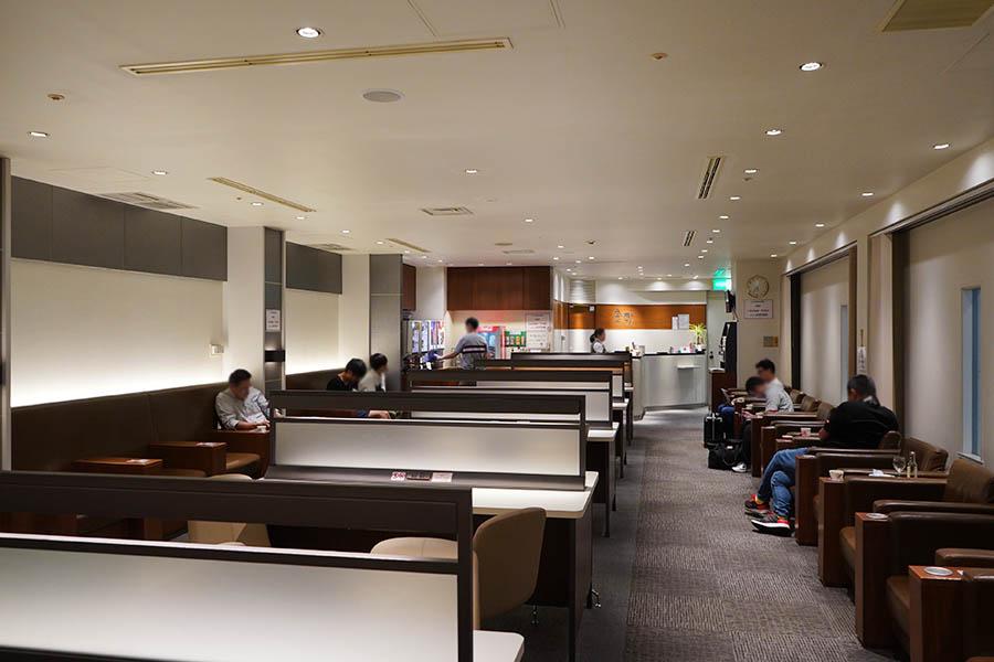 關西國際機場 KIX   JCB 卡免費貴賓室 – 第一航廈南翼「金剛」
