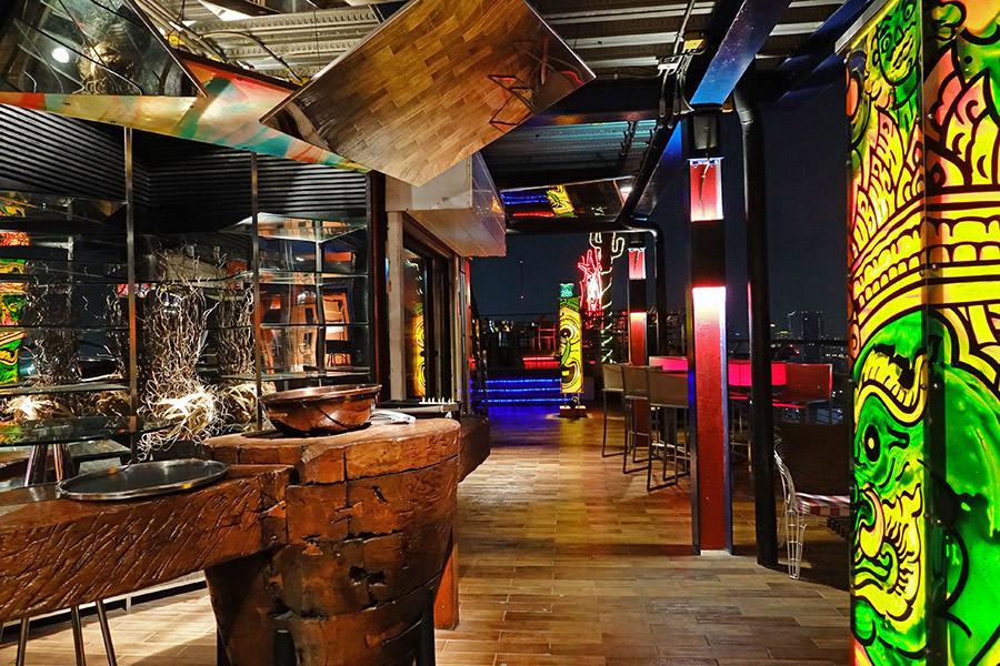 The Roof Gastro曼谷高空酒吧~暹羅設計酒店25F,豪賞360度夜景Sky Bar!!