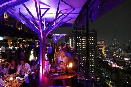 Above Eleven Rooftop Bar 曼谷NANA站人氣高空酒吧!!