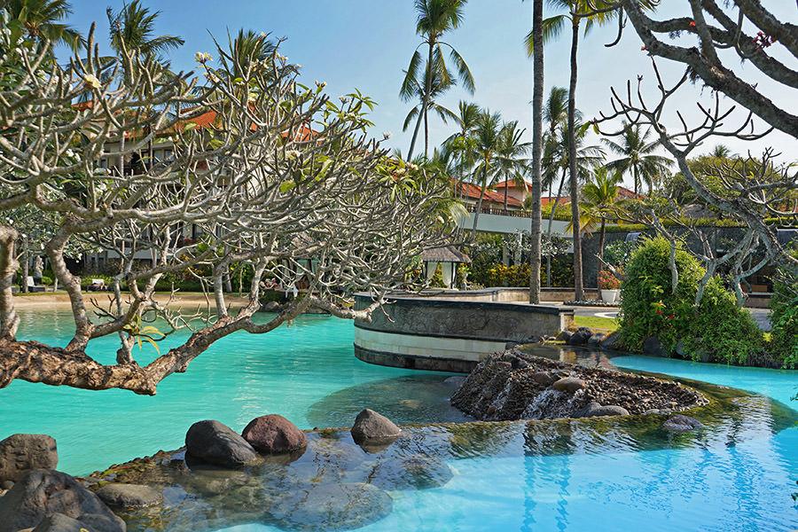 The Laguna, a Luxury Collection Bali 峇里島拉古娜度假村,萬豪集團努沙杜瓦奢華飯店~超狂泳池、專屬海灘!!