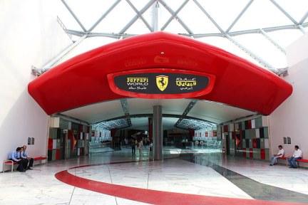 阿布達比 | 法拉利主題樂園 Ferrari World Theme Park 世界最快雲霄飛車(影片)