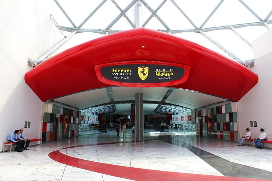 阿布達比   法拉利主題樂園 Ferrari World Theme Park 世界最快雲霄飛車(影片)