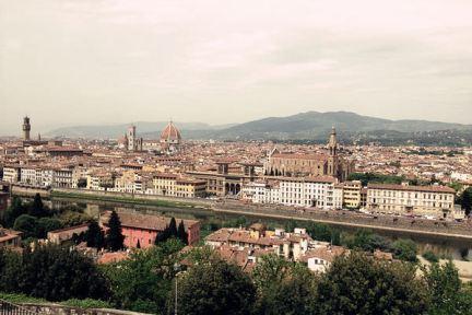 義大利米開朗基羅廣場 Piazzale Michelangelo - 俯瞰佛羅倫斯全景最佳地點