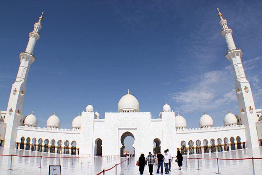 阿布達比 Abu Dhabi | 大清真寺 Sheikh Zayed Grand Mosque