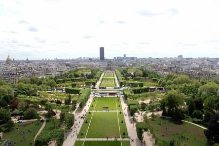 [法國] 巴黎 Paris @ 戰神廣場 Champ de Mars - 艾菲爾鐵塔 la tour Eiffel 完美觀賞點