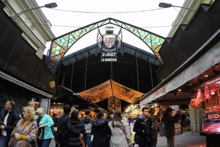 巴塞隆納 Barcelona | 聖約瑟市場 Mercado de La Boqueria 吃貨必逛的在地美食大集合