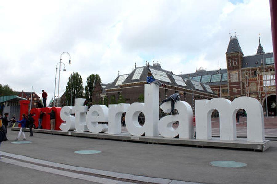 [荷蘭] 阿姆斯特丹 I AMsterdam @ 博物館廣場 Museumplein 露天市集