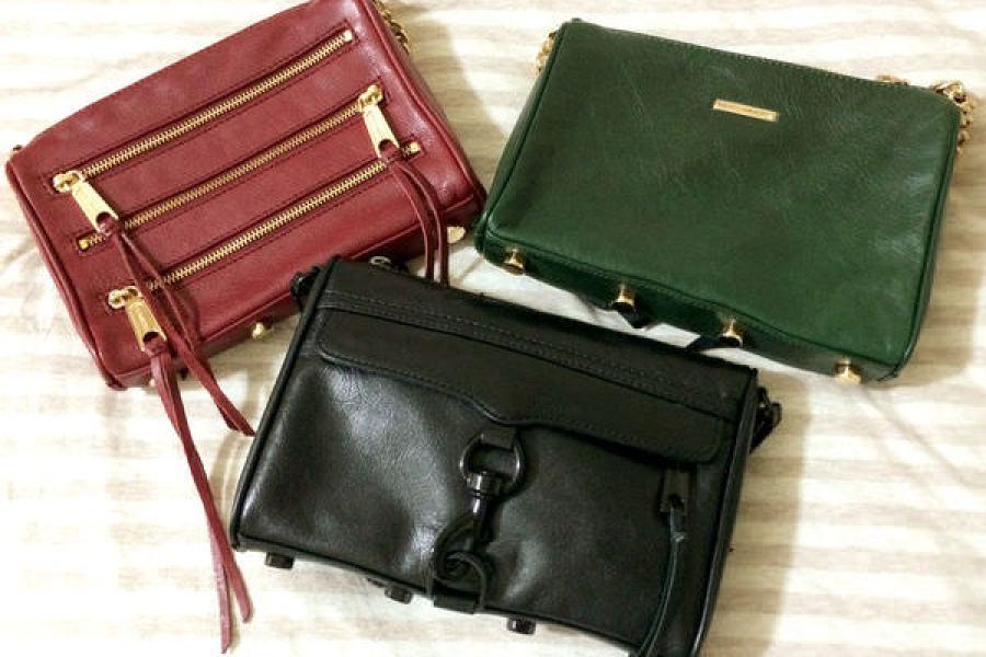 Rebecca Minkoff mini Mac Bag Tough Black 全黑開箱
