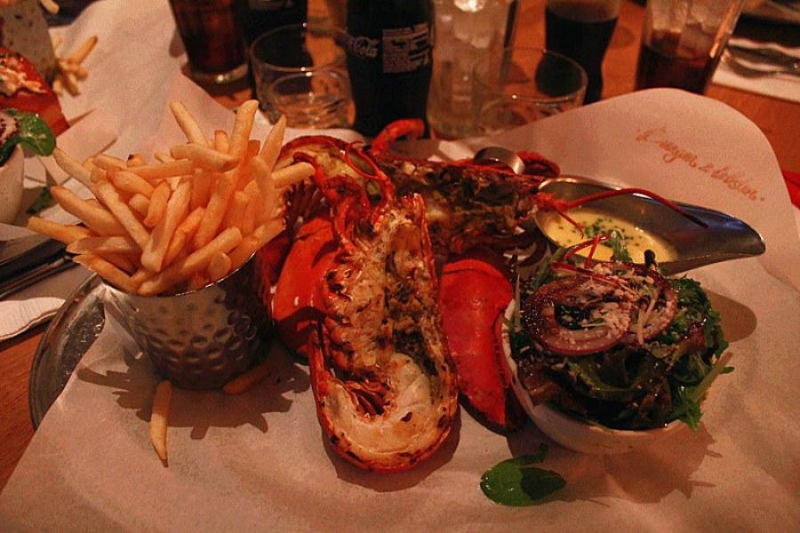 Burger & Lobster 倫敦必吃龍蝦大餐
