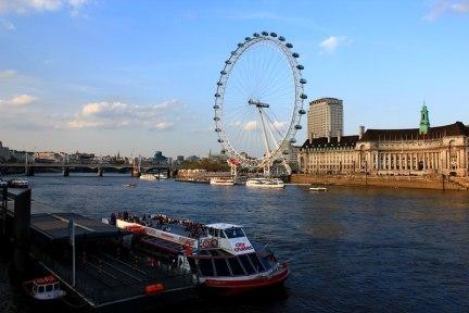 倫敦 London | 倫敦眼 The London Eye 透明摩天輪高空美景