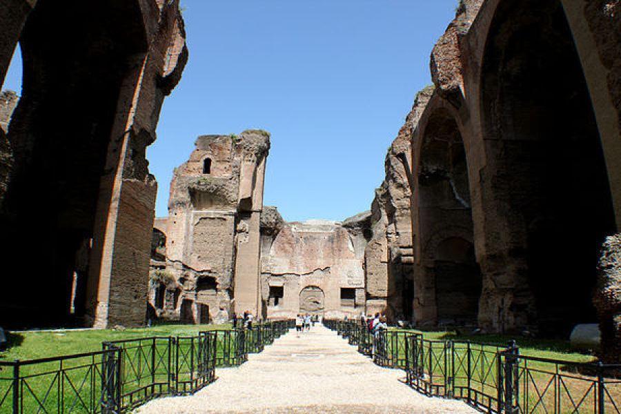 義大利 | 卡拉卡拉浴場 Terme di Caracalla 現實與想像中的羅馬浴場