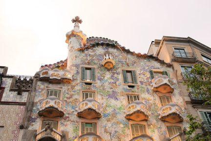 巴塞隆納 Barcelona   巴特婁之家 Casa Batlló 造夢者高第