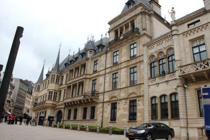 [盧森堡] Luxembourg | 大宮殿 Grand Ducal Palace & 舊城區威廉二世廣場 Place Guillaume II (影片)