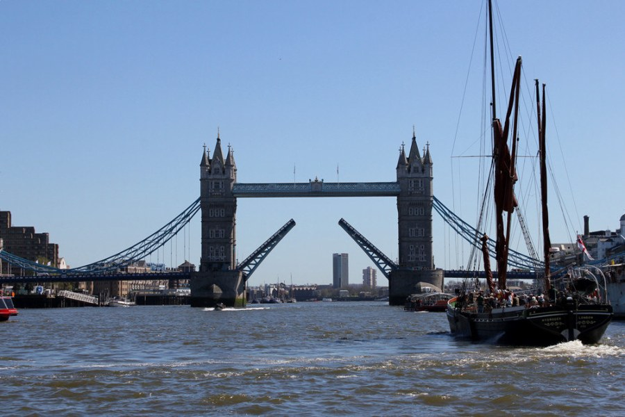 倫敦 London | KPMG Thames Clippers 交通船 – London Bridge to Greenwich