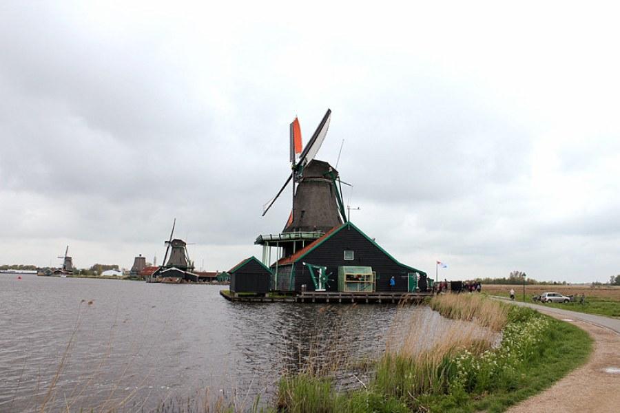 [荷蘭] 北荷蘭 Noord-Holland @ 風車民俗村 Zaanse Schans