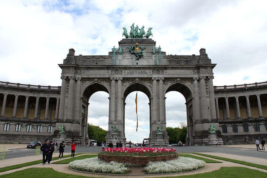 [比利時] 布魯塞爾 Brussels @ 五十周年紀念三拱凱旋門 / 皇家軍事博物館 / 歐盟總部 / 國王辦公處