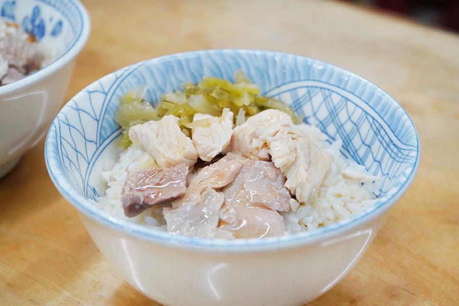 劉里長火雞肉飯,傍晚吃人最少~嘉義知名火雞肉片飯最喜歡這間!