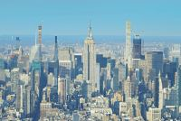 紐約帝國大廈觀景台 Empire State Building 經典地標建築~86F電影視角俯瞰城市全景!