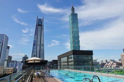 台北寒舍艾麗酒店 Humble House Taipei 房內獨享101震撼,信義區最強戶外景觀泳池!