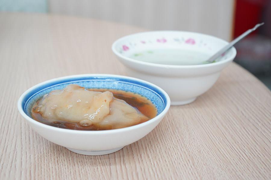 漢口街蒸肉圓,好吃的高雄古早味清蒸肉圓,點肉圓就送清湯!!