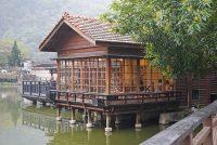 隱茶 Steam 車埕貯木池畔,南投日式木造景觀茶屋