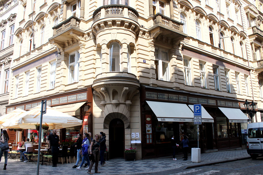 布拉格 Prague Cafe Victoria 隨機餐廳發掘!!