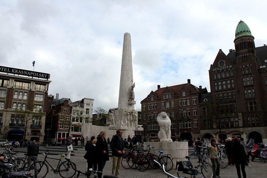 阿姆斯特丹 Amsterdam | 水壩廣場 de Dam