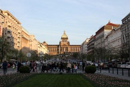 布拉格瓦茨拉夫廣場 Václavské náměstí