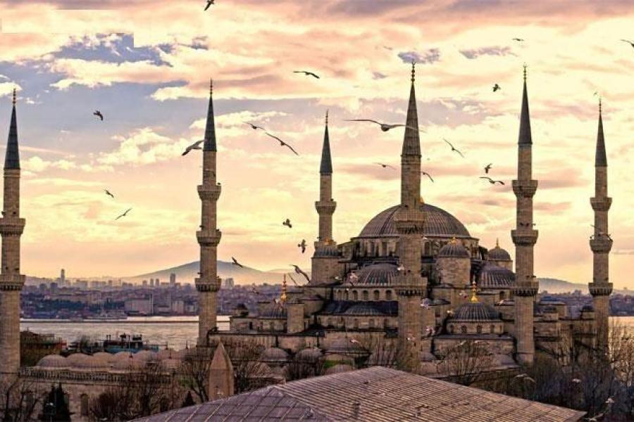 伊斯坦堡 İstanbul ★ 蘇丹艾哈邁德清真寺 Sultanahmet Camii (藍色清真寺)