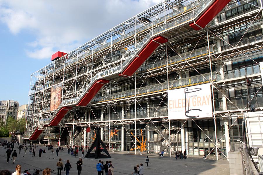[法國] 巴黎 Paris @ 龐畢度中心 Le Centre Georges-Pompidou 令建築界天翻地覆的藝術重鎮