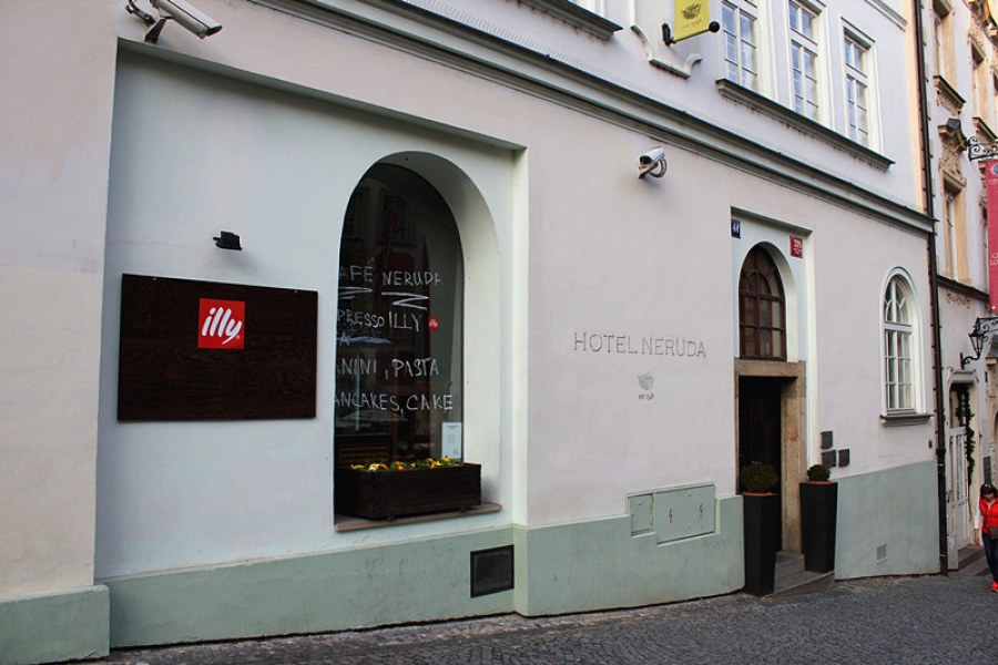 布拉格平價住宿 Design and Style Hotel Neruda, Prague