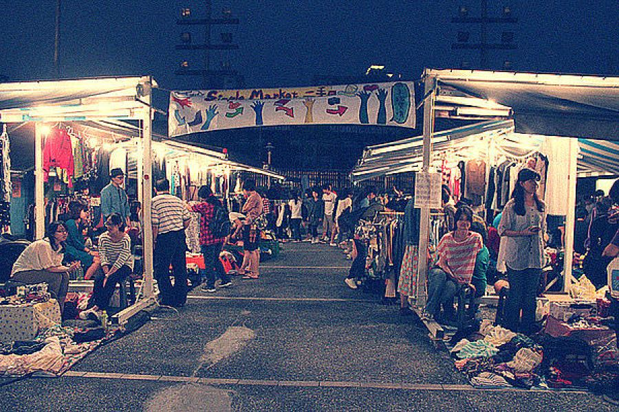 省錢請你跟我這樣做-四四南村Simple Market二手市集擺攤去