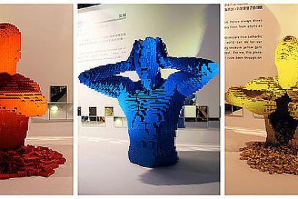 [台北] 松山文創園區 Nathan Sawaya 積木夢工場 LEGO樂高積木展