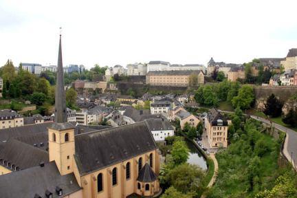 [盧森堡] Luxembourg   康尼徐走廊 Chemin de la Corniche x 阿爾吉特河谷 Alzette valley x 貝克要塞防禦工事 Casemates du Bock