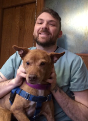 Chris Webb, Veterinary Assistant at Rainier Veterinary Hospital in Seattle
