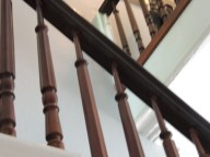 tight staircase- very steep