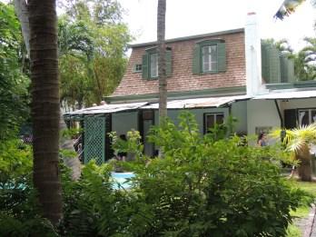Hemingways writing studio