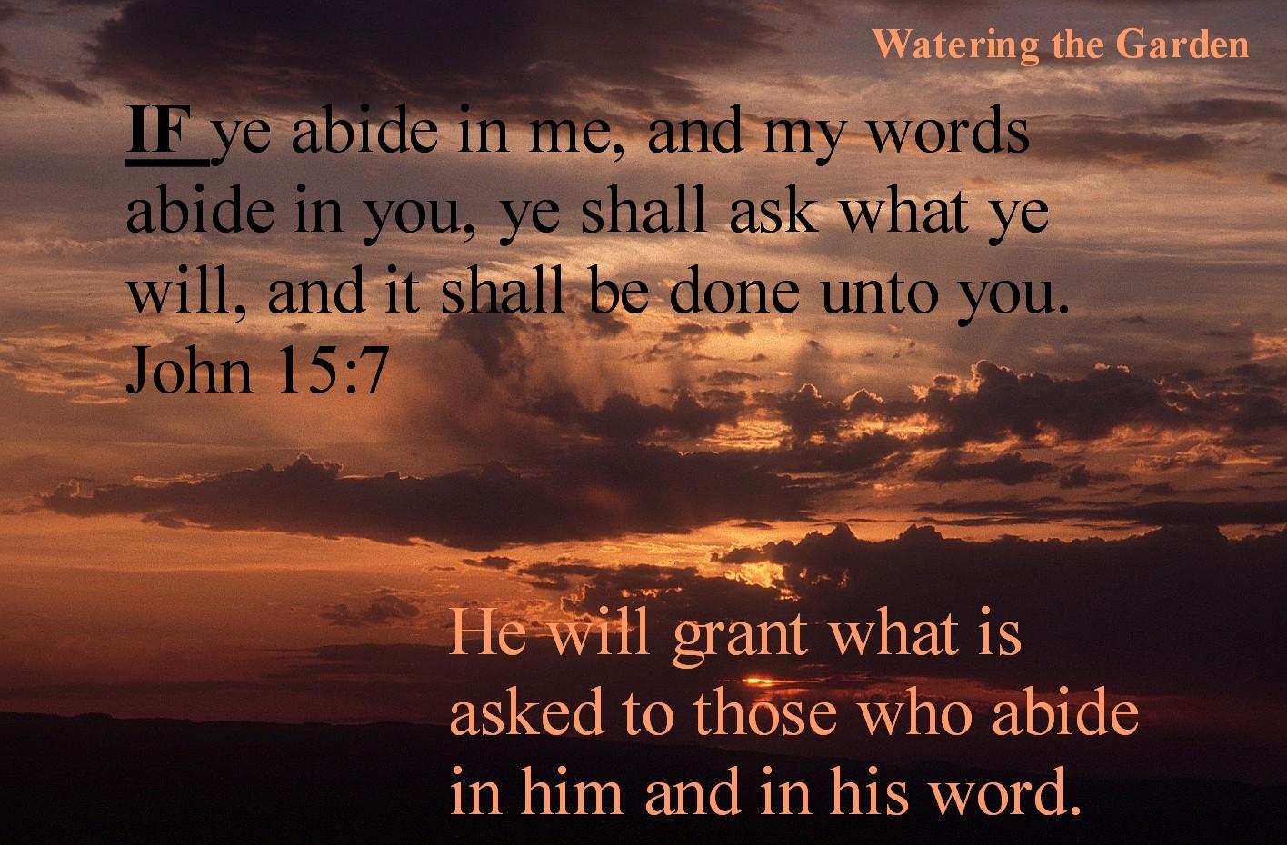 Jesus Words