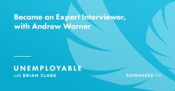 Become an Expert Interviewer, with Andrew Warner
