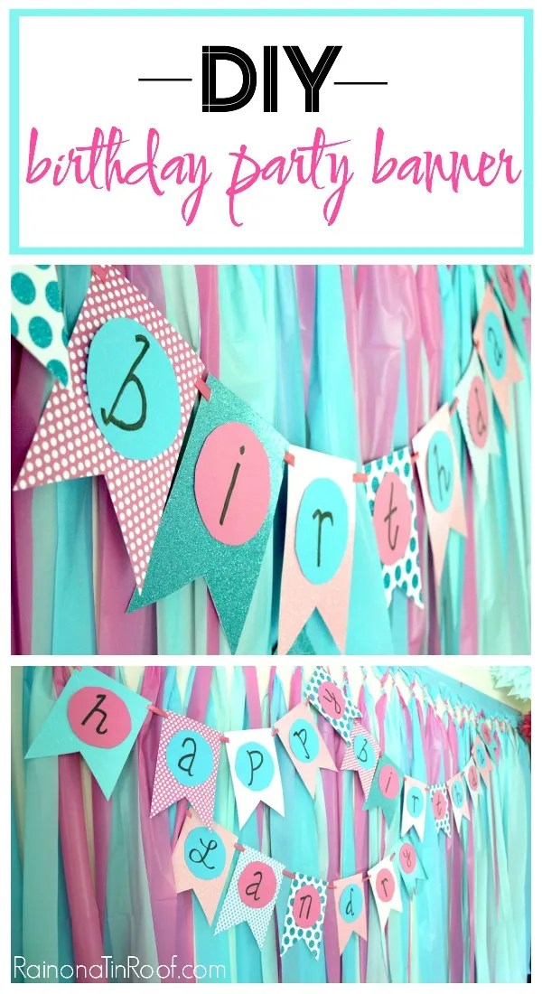 birthday party decorations diy. Black Bedroom Furniture Sets. Home Design Ideas