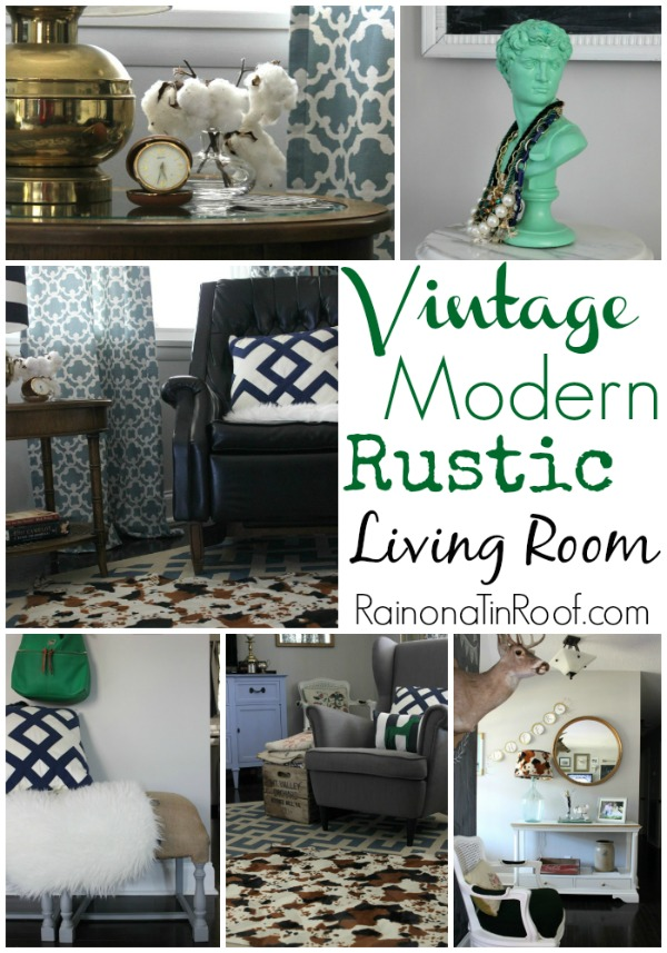 living room ideas modern rustic how to paint vintage decor
