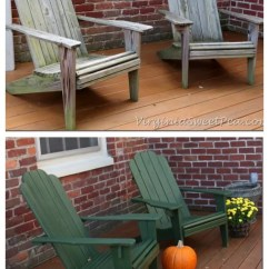 Wicker Porch Chair Cushions Metal Lounge 12 Outdoor Furniture Makeovers - Easier Than You Think!