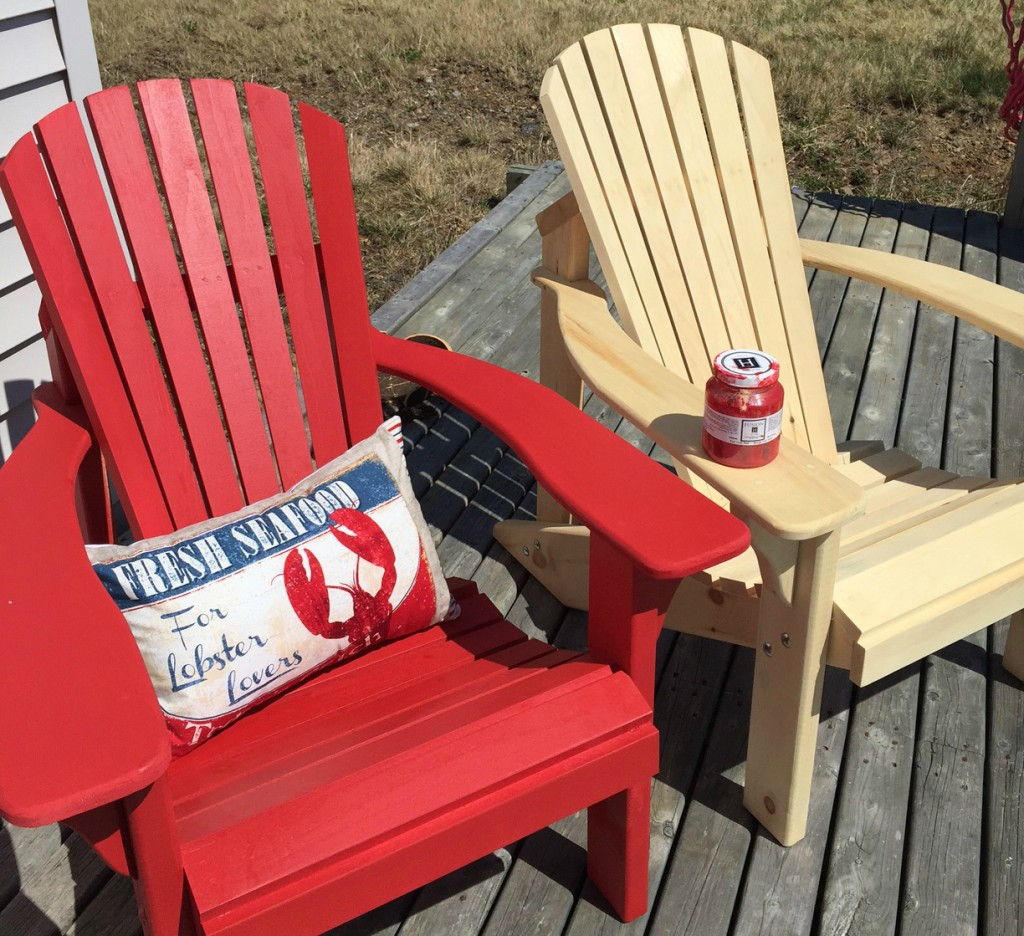 paint for adirondack chairs electric lift perth wa 12 outdoor furniture makeovers easier than you think